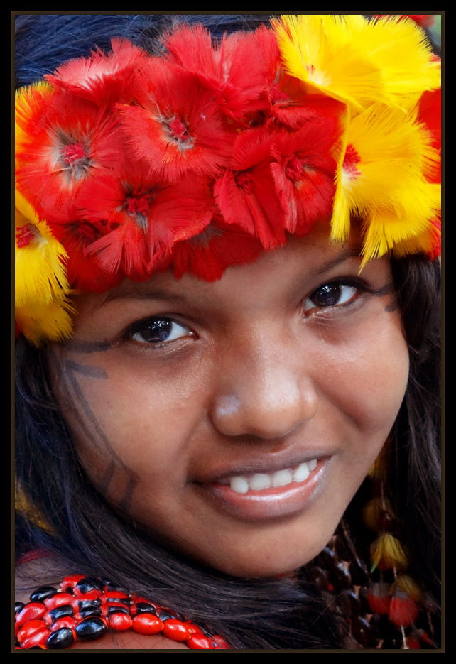 "photo ""Indian Pataxó"" tags: portrait, South America"