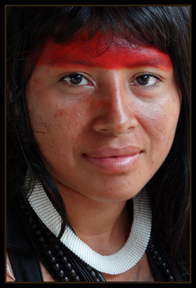 """photo """"Indian Kisêdjê"""" tags: portrait, South America"""