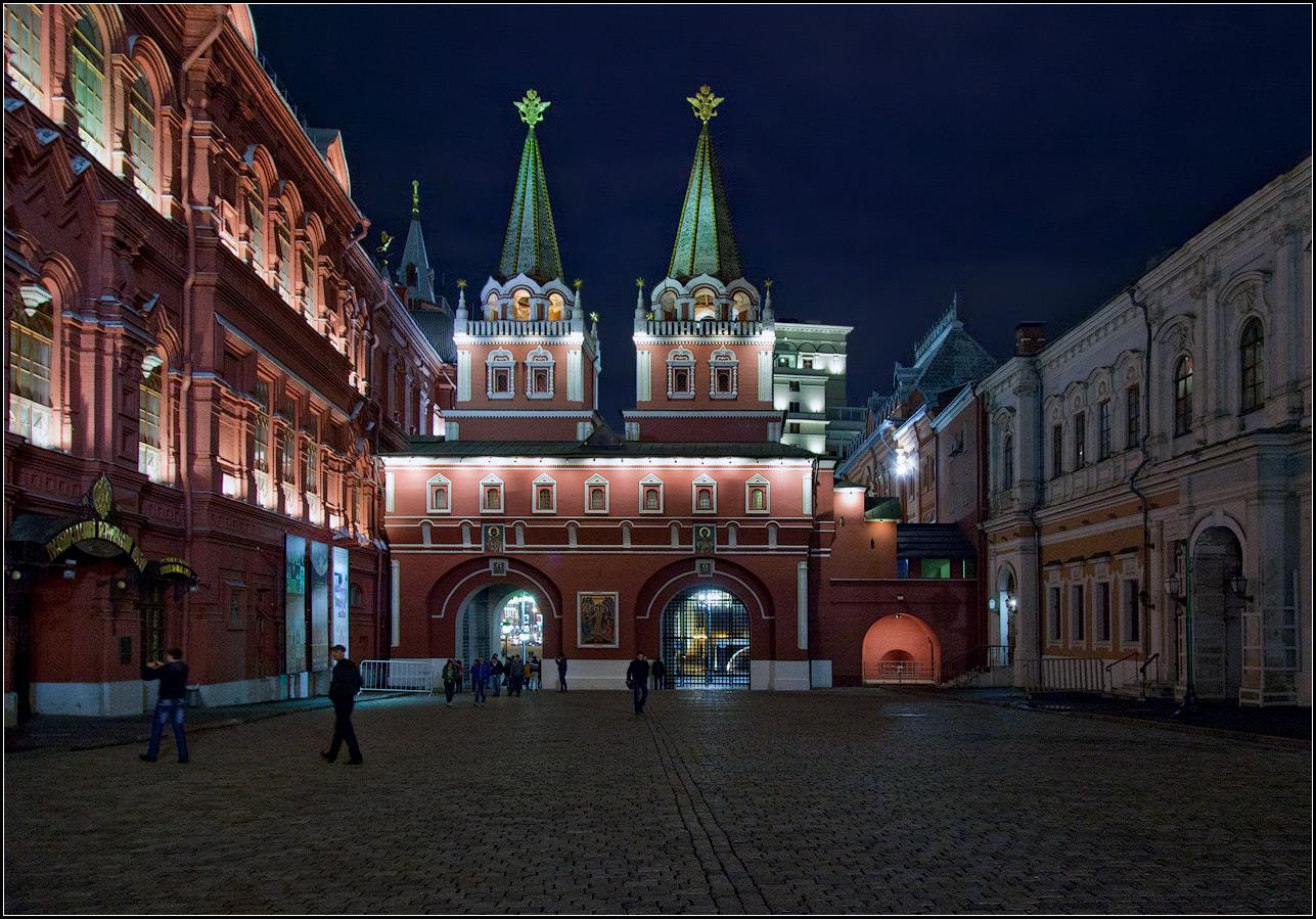 """фото """"Москва. Воскресенские ворота"""" метки: архитектура, город,"""