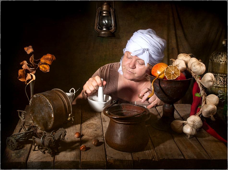 """фото """"Формула волшебства"""" метки: натюрморт, ретро, портрет, Формула волшебство"""
