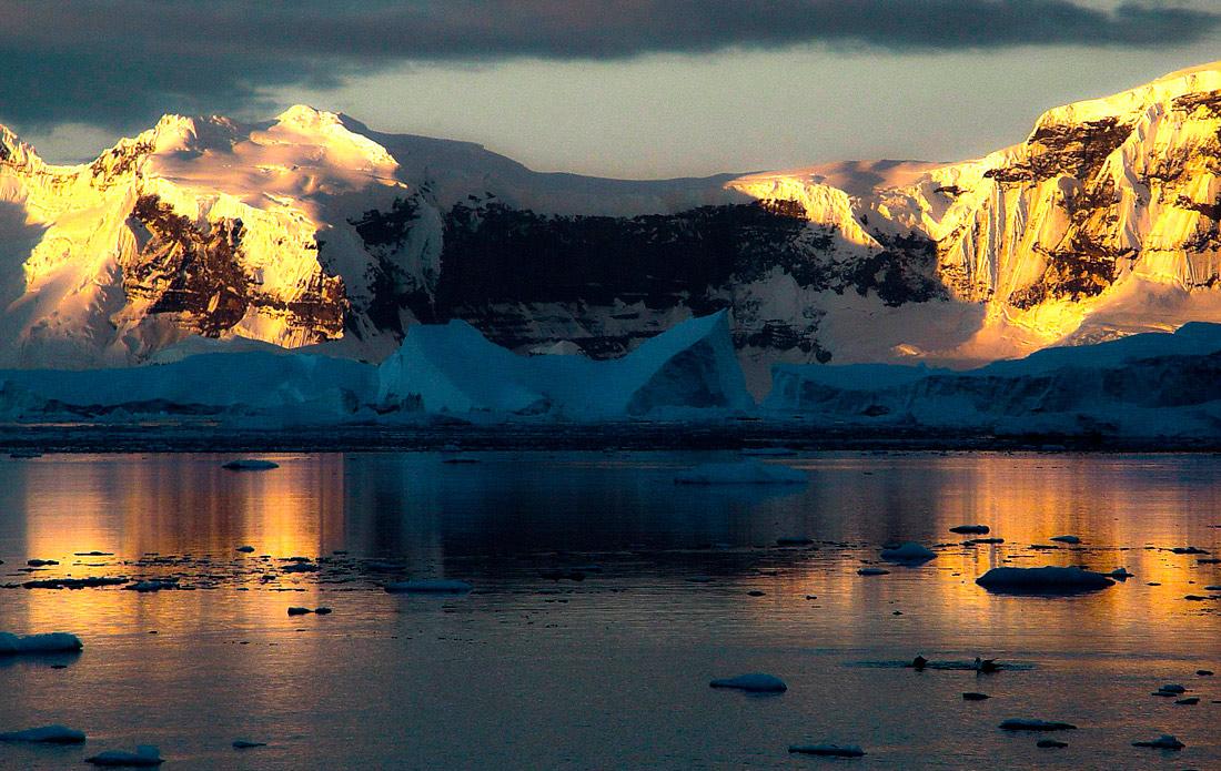 "фото ""Где-то в Антарктике..."" метки: пейзаж,"