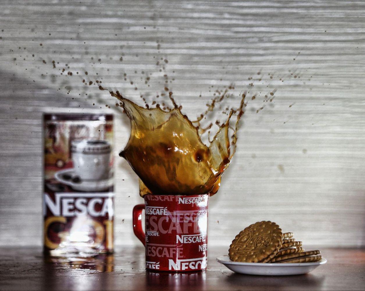 """фото """"Бульк"""" метки: натюрморт, разное, брызги кружка кофе"""