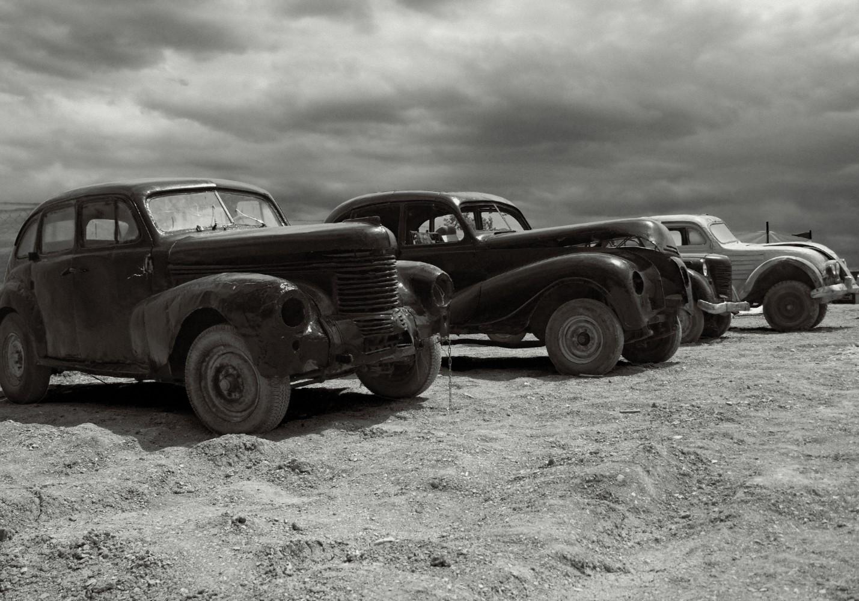 "photo ""***"" tags: technics, black&white, old-time, авто"