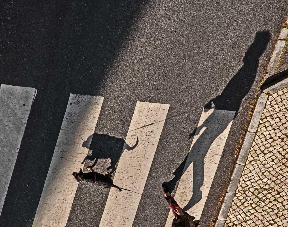 "photo ""Shadow"" tags: street, black&white, city, Europe, Lisbon, portugal"