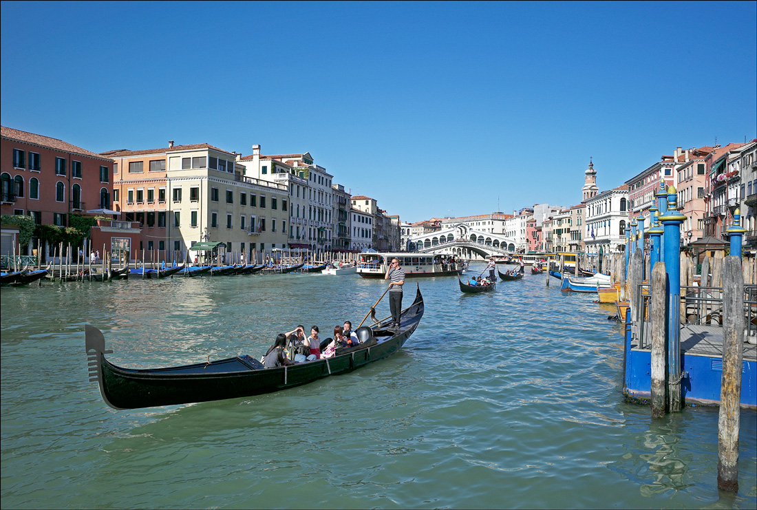 "photo ""On the water highway"" tags: landscape, travel, Italy, Venice, каналы"