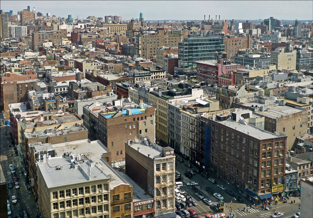 "photo ""Over the city"" tags: landscape, New York City"