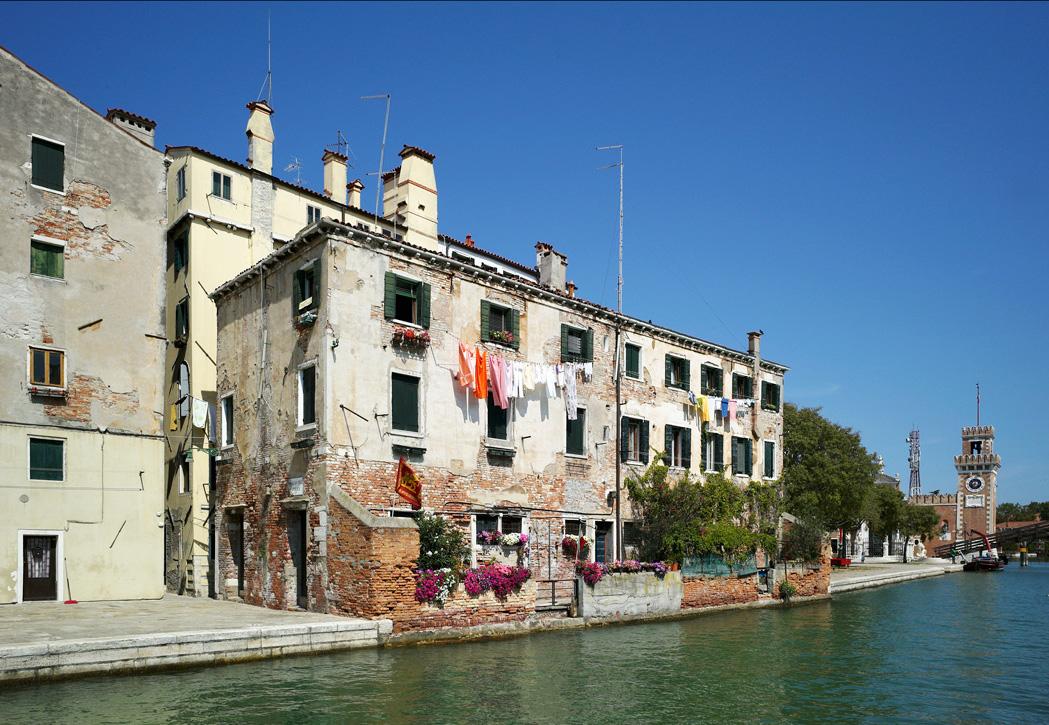 """фото """"Стирка"""" метки: город, Венеция, Италия, каналы"""