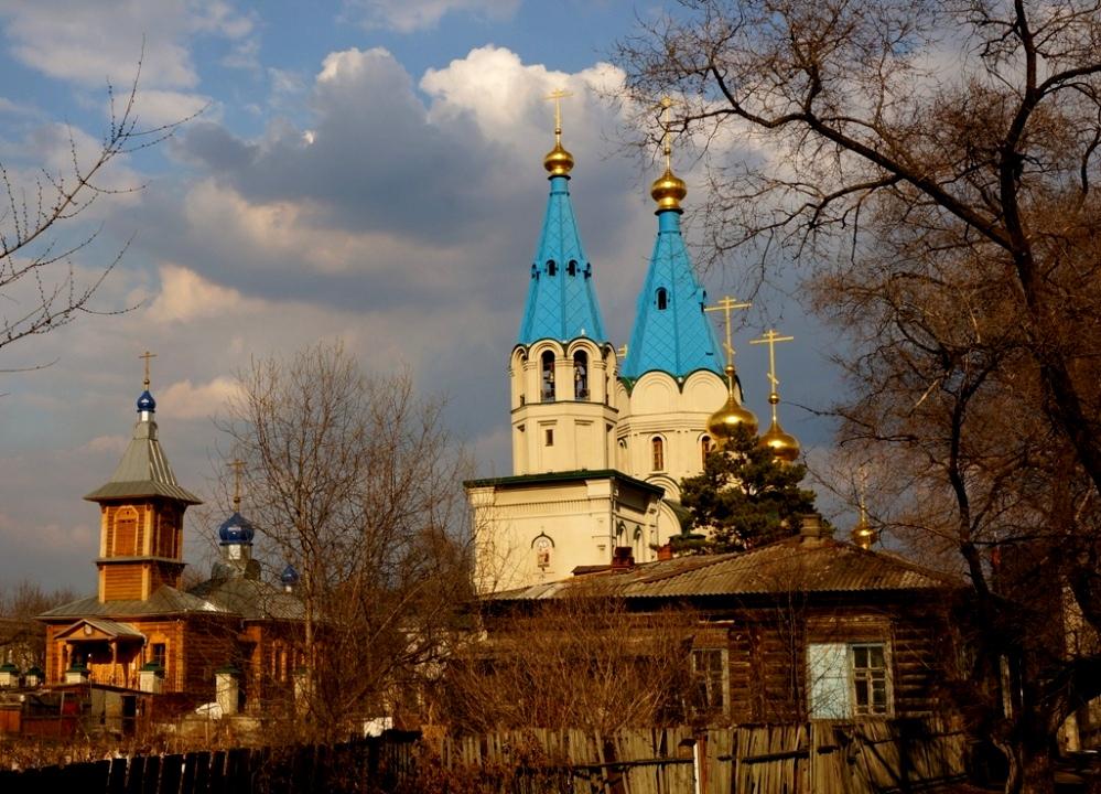 """фото """"Благовещенский дворик"""" метки: пейзаж, путешествия, город,"""