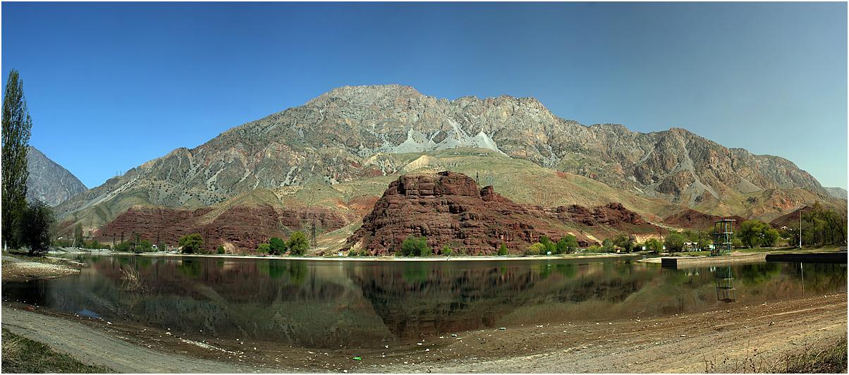 "фото ""***"" метки: пейзаж, природа, путешествия, Азия, вода, горы, киргизия, кыргызстан, скалы, тянь-шань"