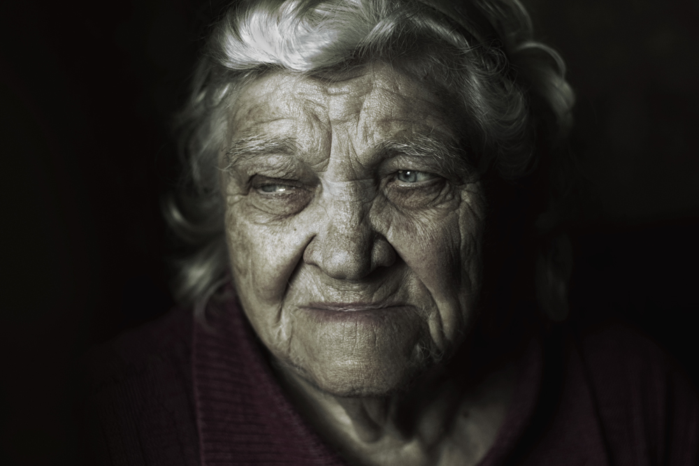 "photo ""бабушка"" tags: portrait,"