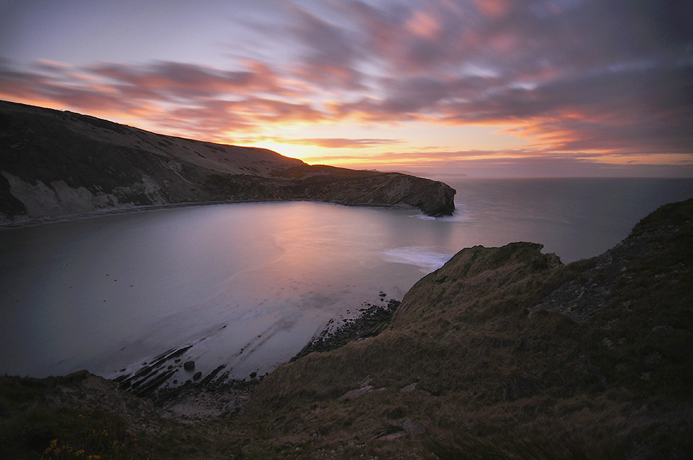 "photo ""Lulworth Cove"" tags: landscape, Nikon D90.Sigma 10-20 +Nisi ND"