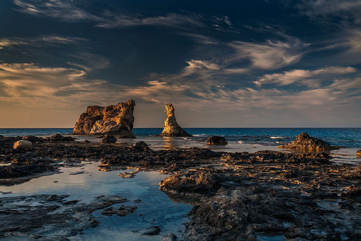 "photo ""Rocky beach 2"" tags: landscape,"