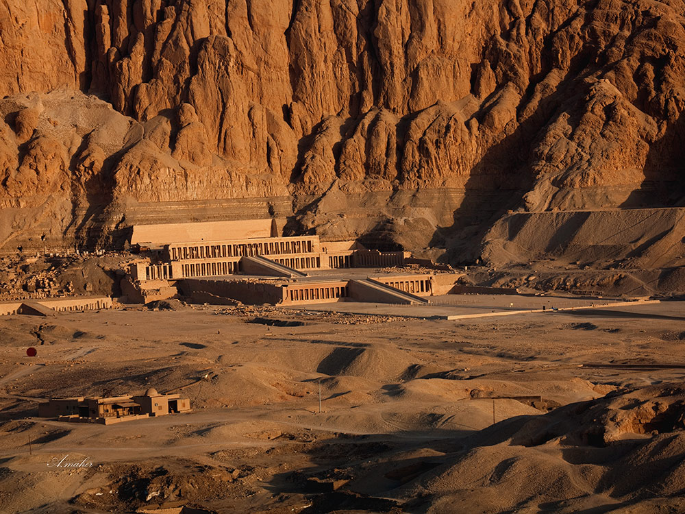 "photo ""Hatshepsut Temple"" tags: travel,"