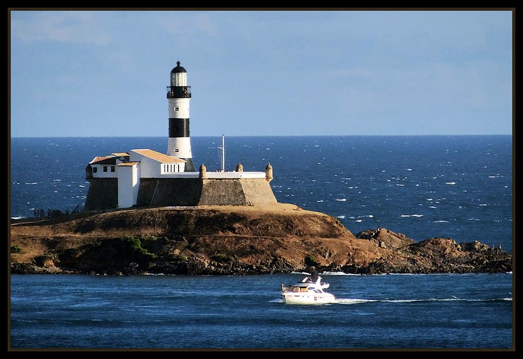 "photo ""Farol da Barra"" tags: landscape, travel, South America"