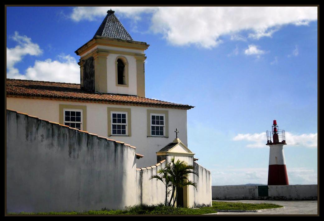 "photo ""Igreja Nossa Senhora de Monte Serrat"" tags: landscape, architecture, travel, South America"
