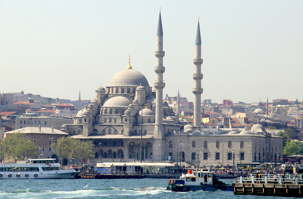 "photo """"The New Mosque (Istambul)!"" tags: architecture, landscape, city,"