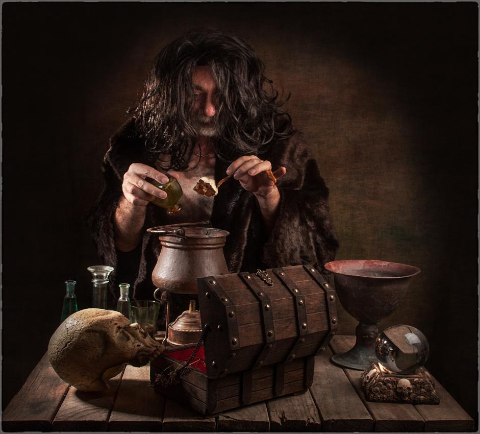 "photo ""warlock"" tags: still life, portrait, old-time, warlock колдун"