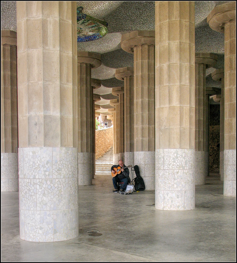 """фото """"Барселона. Парк Гуэль"""" метки: архитектура, жанр,"""