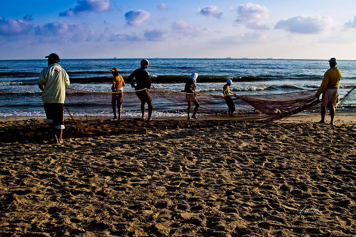 """фото """"Fishermen"""" метки: путешествия,"""
