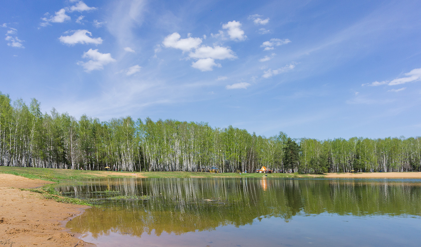 "photo ""***"" tags: landscape, clouds, forest, lake, reflections, spring, water"