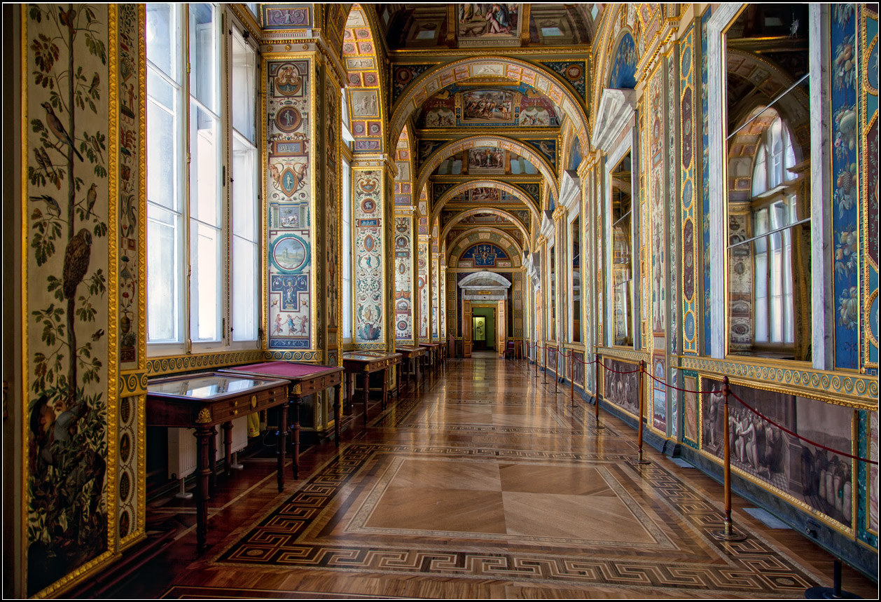 "photo ""Raphael's loggia"" tags: architecture, interior,"