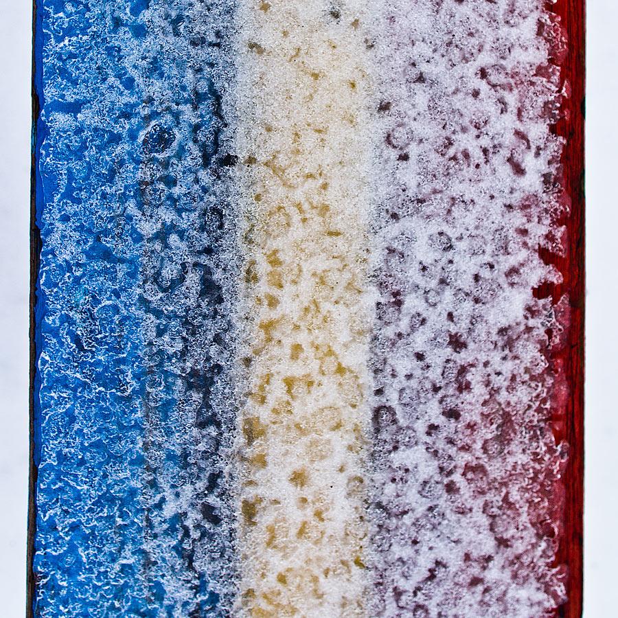 """фото """"Зимний фрагмент лавочки"""" метки: разное, Город, вещи, предметы"""