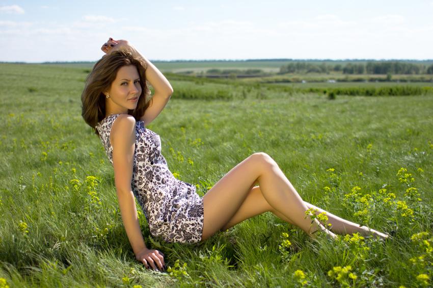 """фото """"Весна в степи"""" метки: портрет, природа, гламур,"""