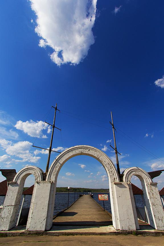 """photo """"Pier"""" tags: landscape, architecture, travel,"""