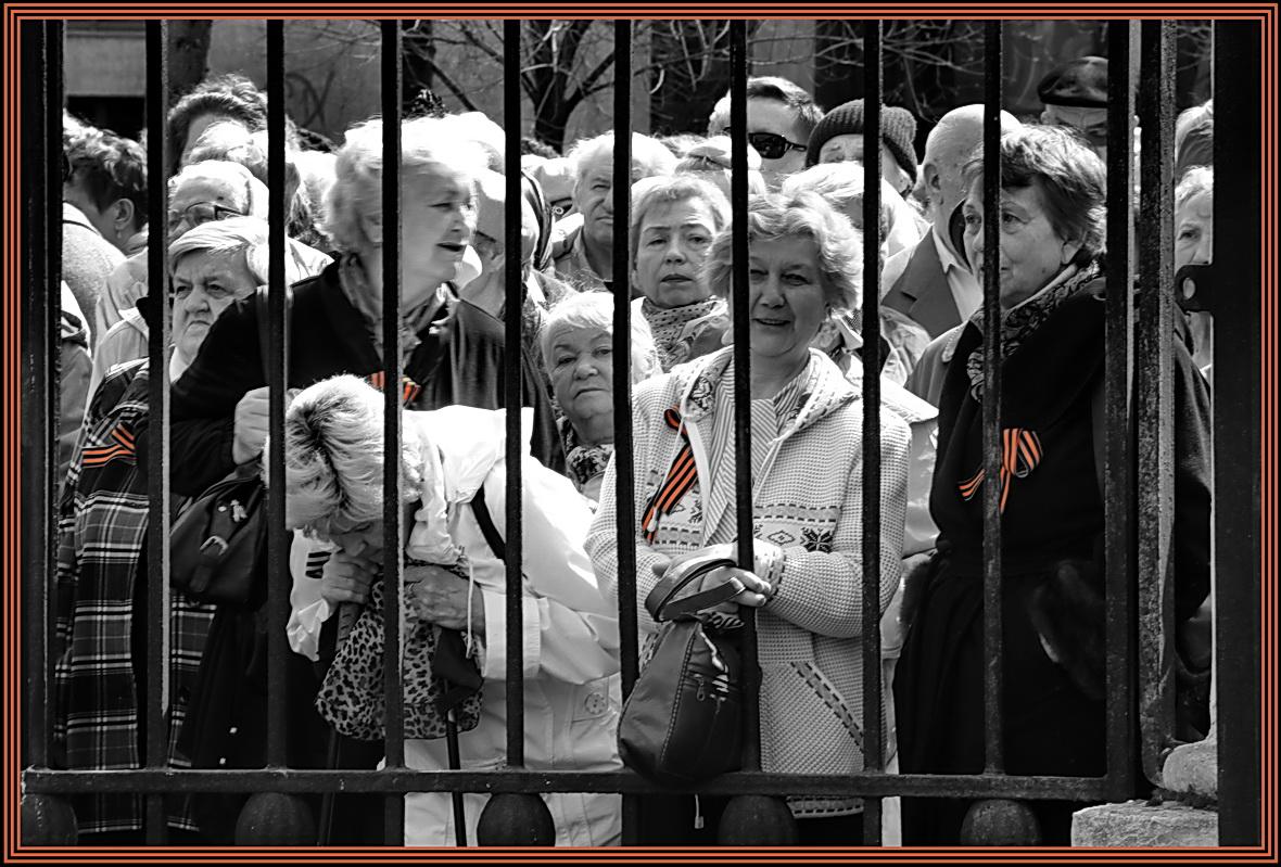 """фото """"Майские зарисовки"""" метки: репортаж, шествие ветеранов"""