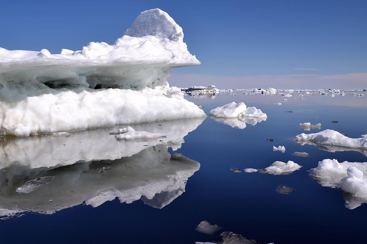 "фото ""Айсберг"" метки: пейзаж, лед, море, небо"