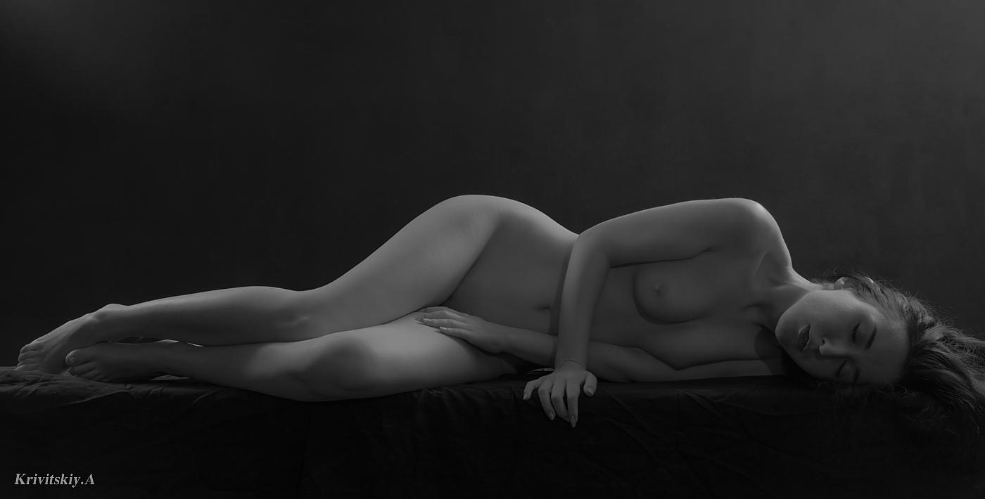 "photo ""**Lucillia Eglantier**"" tags: nude, black&white, girls, woman, Александр Кривицкий, кривицкий, модель, судия, фотоактриса, фотомодель, фототеатр"