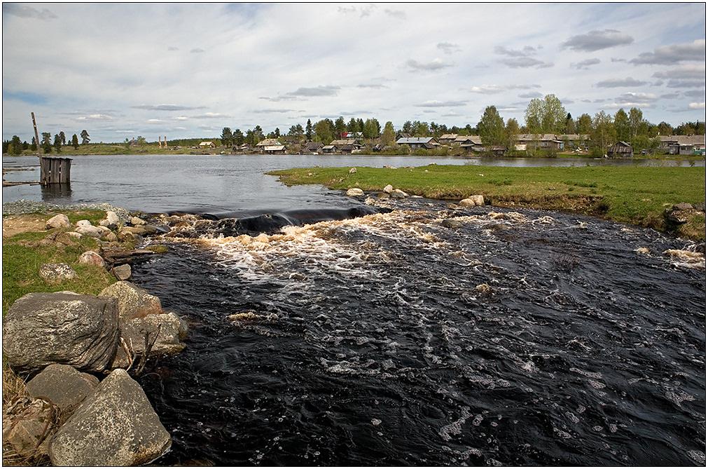 """фото """"Лоймоланйоки"""" метки: пейзаж, Карелия, весна, река"""