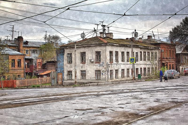 """фото """"Ул.Пионерская в Самаре."""" метки: город, Самара"""
