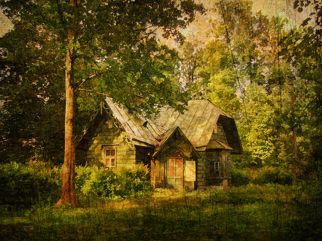 """фото """"Домик"""" метки: пейзаж,"""