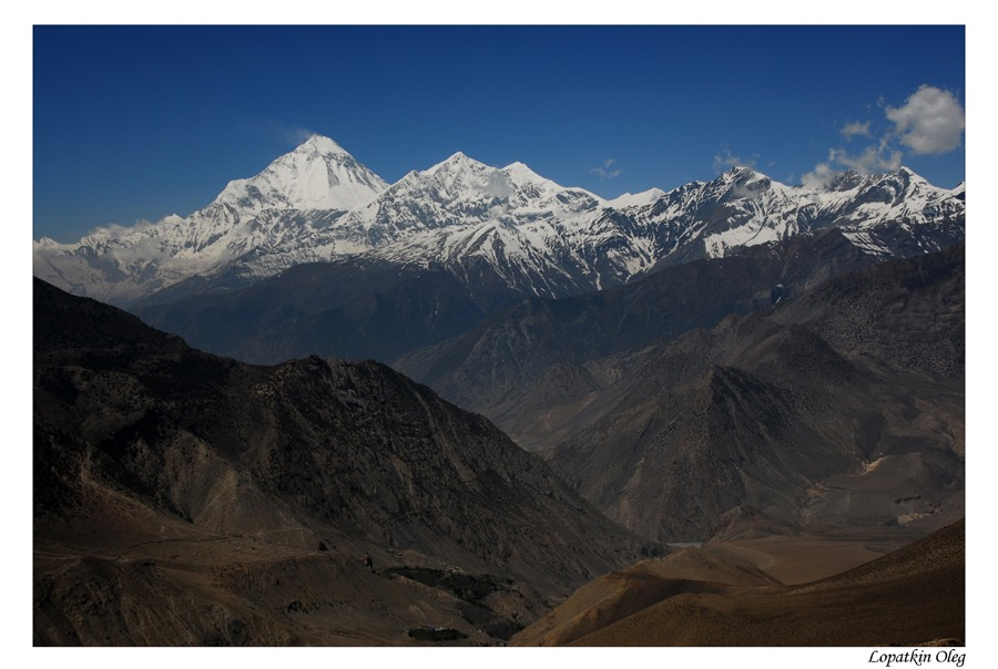 "photo ""Mustang..."" tags: landscape, travel, nature, Mustang, Nepal"