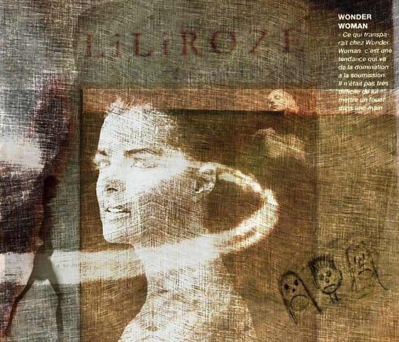 """фото """"lili"""" метки: портрет, digital art, Art, artistic, body, color, digital, fine art, nudes, paint, photomanipulation, surrealist, woman"""