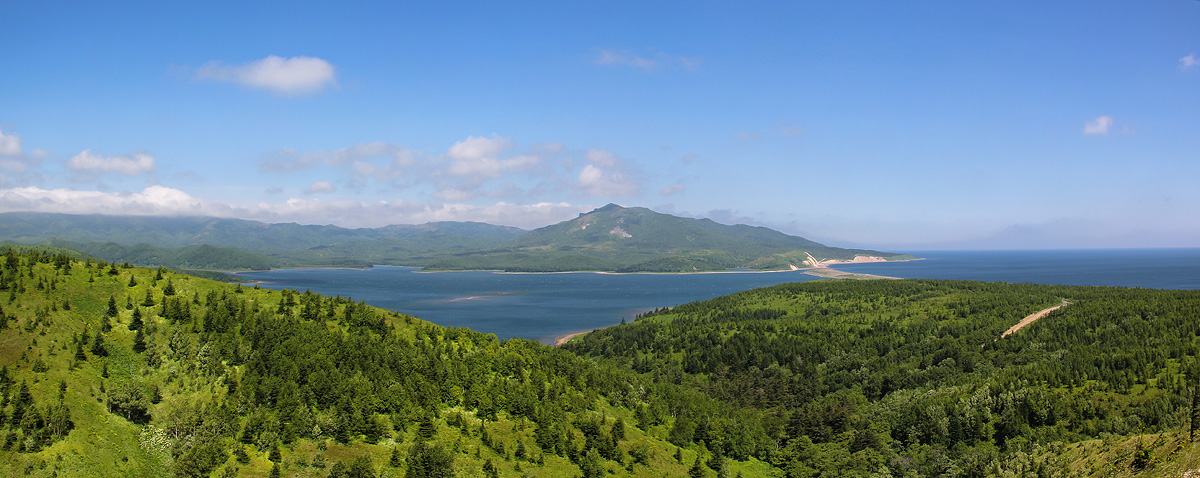 Фото сахалинский пейзаж - фотограф Ирина Пантелеева - панорама - ФотоФорум.ру