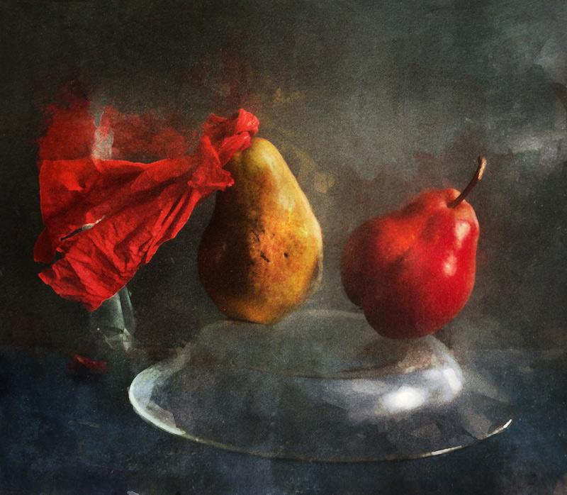 """фото """"Flamenco"""" метки: натюрморт, груши"""