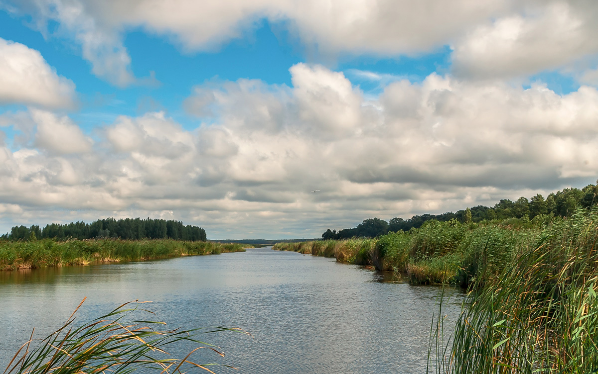 "photo ""***"" tags: landscape, clouds, summer, water"