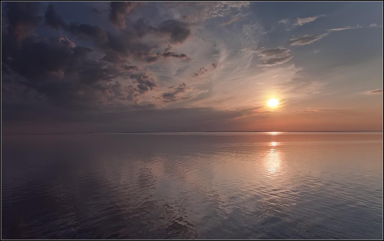 """фото """"на закате"""" метки: пейзаж, природа, Карелия, Ладога"""