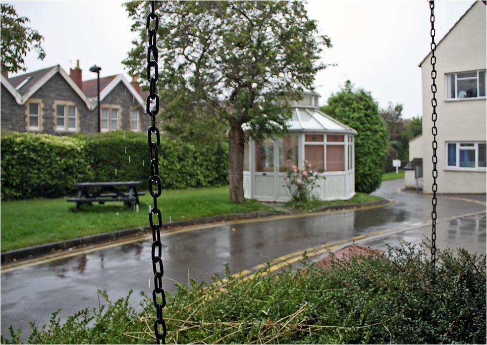 """фото """"Вот и дождик пошел..."""" метки: город, дождь, лето"""