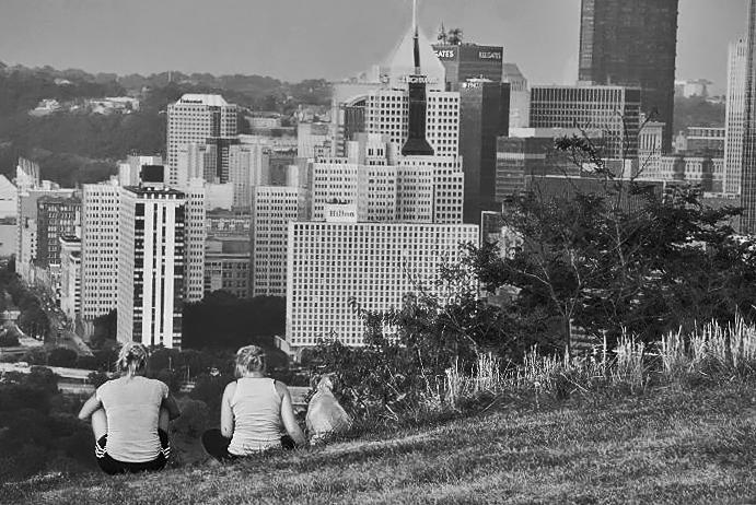 """фото """"Pittsburgh, Pa."""" метки: пейзаж, архитектура, путешествия,"""
