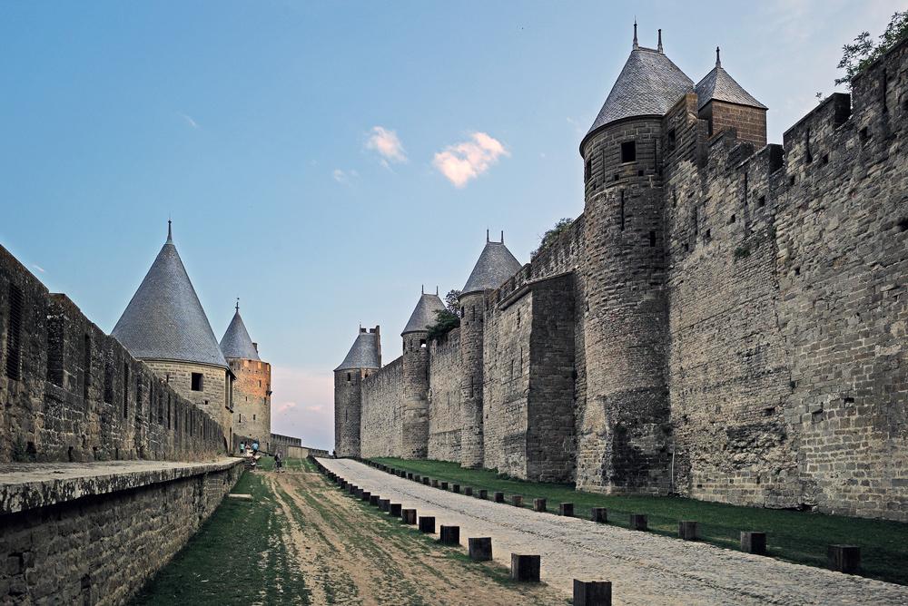 "photo """"Broadway"""" tags: , Каркассон, Франция, замок"
