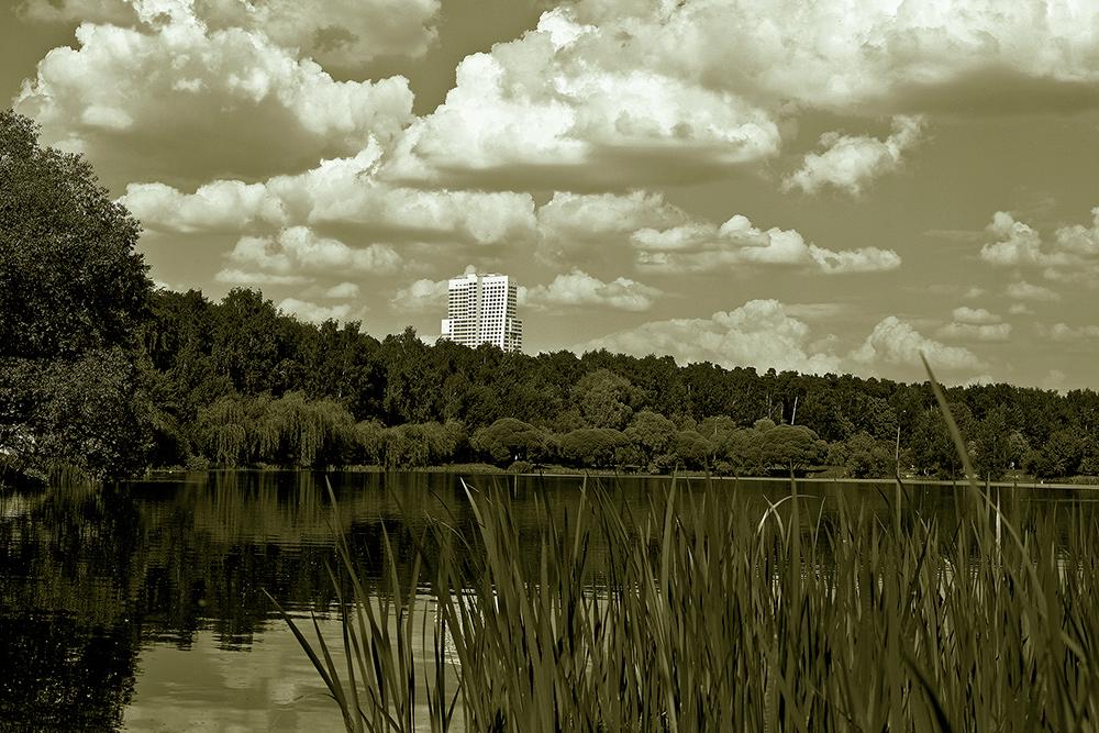 """фото """"Урбанизация"""" метки: пейзаж, черно-белые,"""