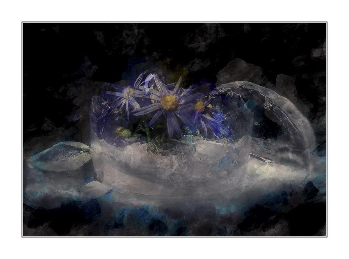 """фото """"Ice&flowers"""" метки: натюрморт,"""