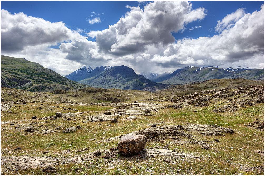 "photo ""Altai Mountains. A view..."" tags: landscape, travel, nature, Алтай"