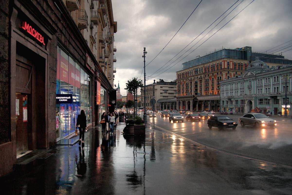 """фото """"Вечер большого города"""" метки: стрит-фото, город,"""