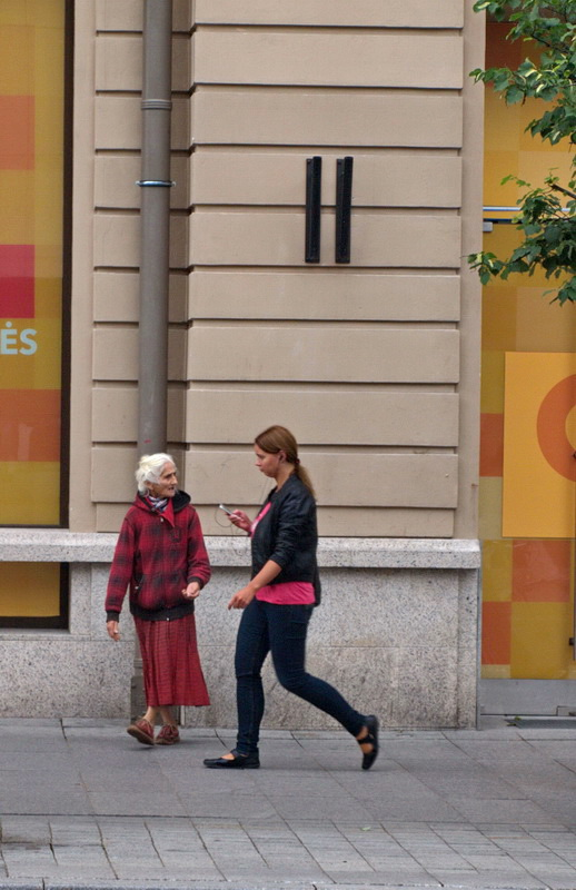 """photo """"Beggar pretty advanced in years at the Center for ..."""" tags: street, reporting, travel,"""
