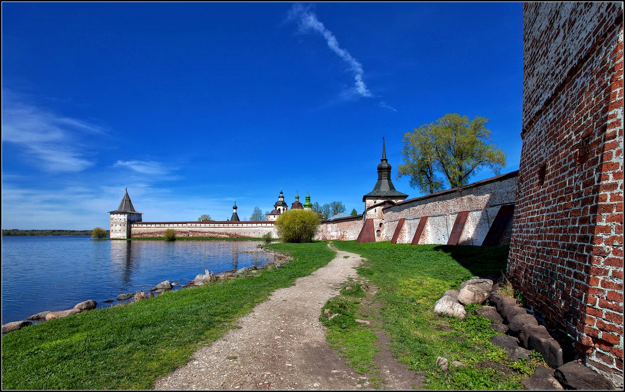 """фото """"Кирилло-Белозерский монастырь"""" метки: архитектура, пейзаж,"""