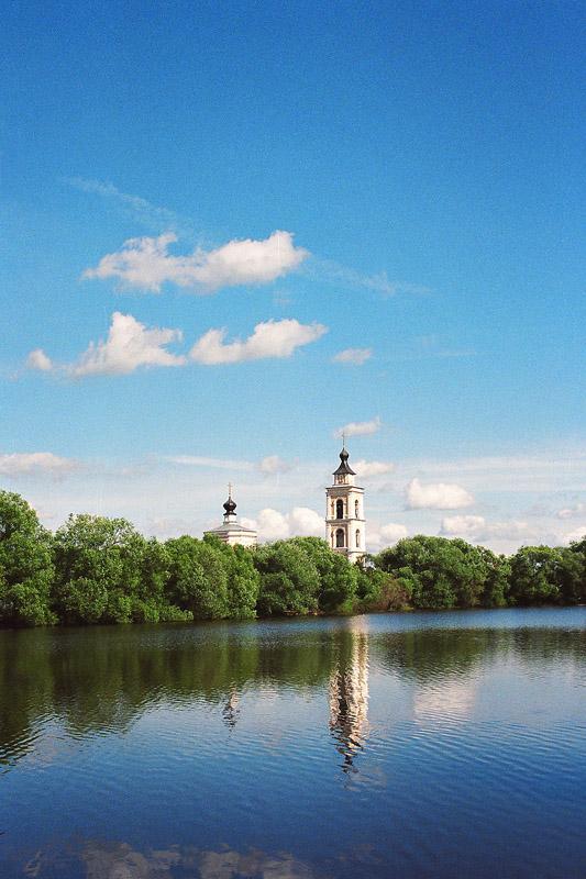 "photo ""***"" tags: landscape, clouds, summer, water, Подмосковье"